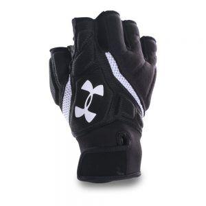 Under Armour Combat Iv Half Finger Mens Football Gloves Review Football Gloves Gloves Football Equipment