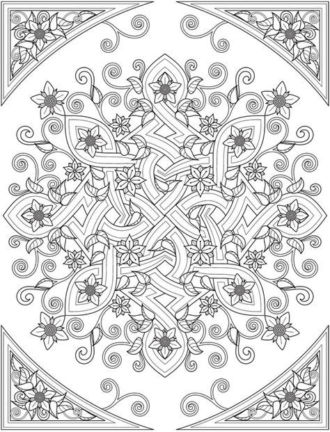 Welcome to Dover Publications From: Creative Haven Deluxe Edition ...