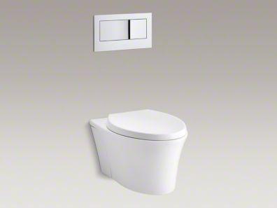 Kohler K 6303 96 Veil 1 6 Gpf One Piece Build Com Wall Hung Toilet Wall Mounted Toilet Toilet