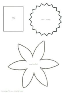 How To Bliss How To Make A Paper Flower Daffodil Bliss Daffodil Flower Paper Flower Templates Printable Flower Template Flower Petal Template