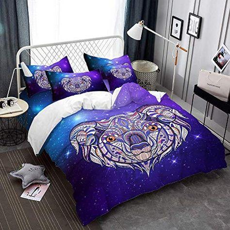 White Tiger Duvet Cover Set//Quilt Cover Twin//Full//Queen//King Bedding Set Animal