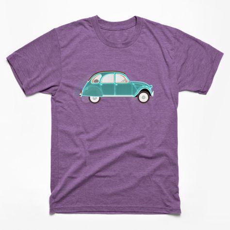 Evolution of Man 2CV Commerciale  t-shirt