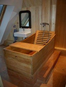Baignoires en bois exterieure chauffante baignoires ...