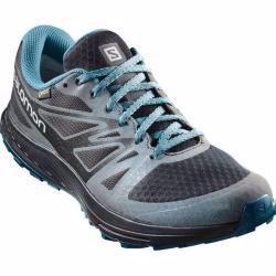 Salomon Herren Trailrunningschuhe Sense Escape Gtx Nocturne Grosse 38 In Schwarz Salomonsalomon In 2020 Mens Trail Running Shoes Trail Running Shoes Running Shoes