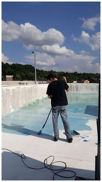 While It S Common Sense For Most People It Does Bear Repeating That There Are Certain Times That Applying With Images Elastomeric Roof Coating Roof Coating Roof Coatings