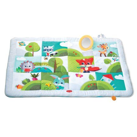 Tiny Love Super Mat Large Baby Play Mat Meadow Days Walmart Com In 2020 Play Mat Baby Play Mat Playmat