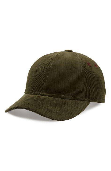 841000af7c3 TED BAKER CORDUROY BASEBALL CAP.  tedbaker