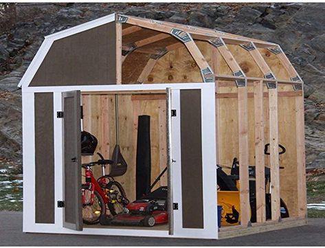 Ez Shed 70188 Grange Style Instantanee Cadrage Kit Amazon Ca Terrasse Et Jardin En 2020 Abris De Jardin En Kit Plans D Abris Abri De Jardin