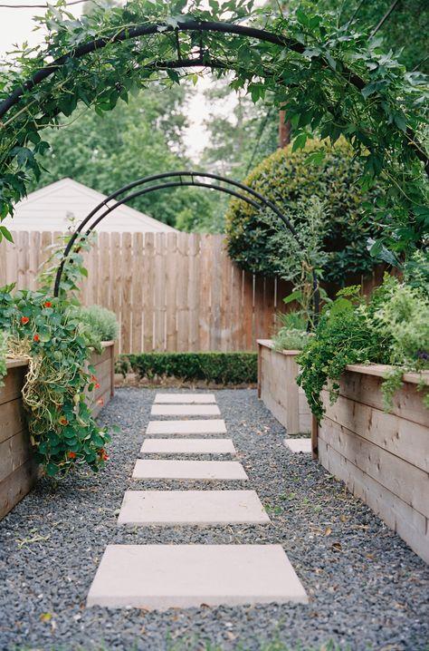 Arch Trellis Ideas for the Kitchen Garden