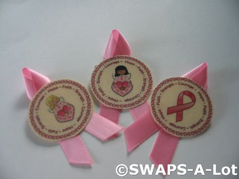 SWAPS-A-Lot - Ribbons of Hope SWAPS Kit for Girl Kids Scout 25