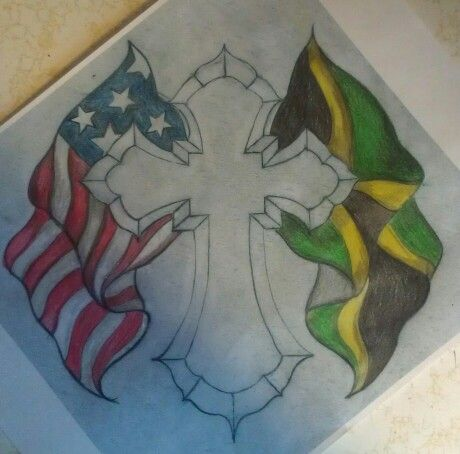 33 best creative disaster my work images on pinterest rh pinterest co uk Jamaican and American Flag Together jamaica flag tattoo designs