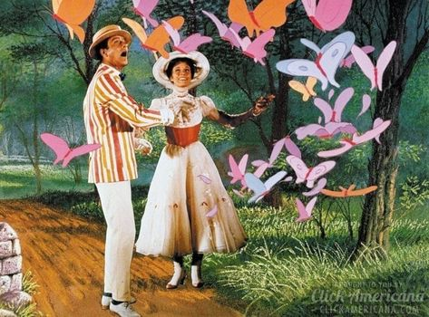 Live action plus animation are magic in Disney's classic movie, 'Mary Poppins'