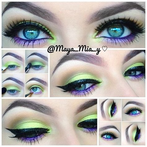 maya mia makeup - Bing Images on We Heart It Pretty Makeup, Love Makeup, Makeup Inspo, Makeup Art, Makeup Inspiration, Beauty Makeup, Hair Makeup, Makeup Drawing, Makeup Course