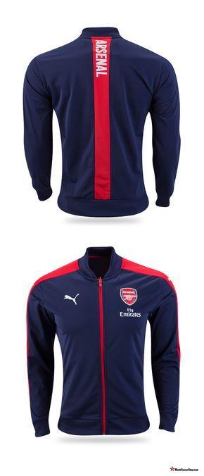 PUMA Arsenal Home Stadium Jacket 1617 | Arsenal, Arsenal
