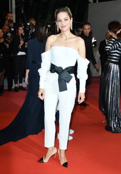 Actress Marion Cotillard Of The Film Angel Face Attends The