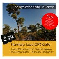 Routenfähige Navigationskarte für Garmin Geräte.  Inklusiv Installations-Karten für Windows & Mac Die GPS Karte wird auf einer 4 GB Micro SD Karte mit SD Karten-Adapter...