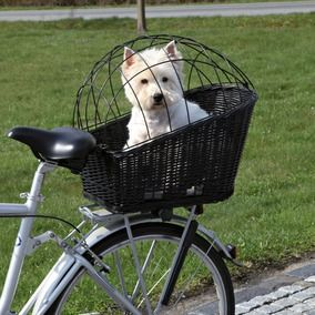 TRIXIE - Dog On Tour/Friends on Tour Bicycle Accessories Bicycle Basket For the pug! He'd most likely be happier strapped to my chest though cause he's a freak.