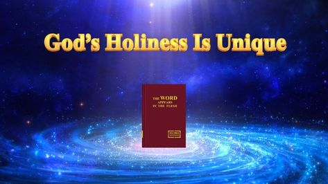 """The Word of God in the Last Days 