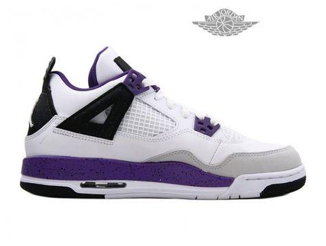 wholesale dealer 338b4 15c36 Basket Jordan Pas Cher Chaussures Pour Femme Air Jordan 4 Retro Femme -  Authentique Nike chaussures 70% de r  duction Vendre