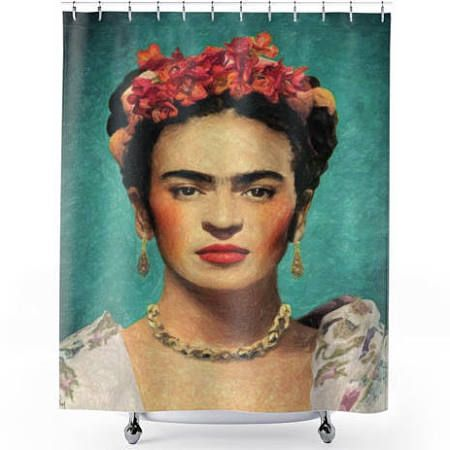 Mexican Shower Curtain Google Search Kahlo Paintings Frida