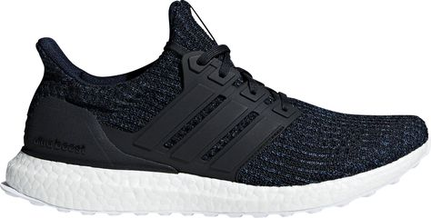 adidas Men's Ultra Boost Parley Running Shoes, Blue ...