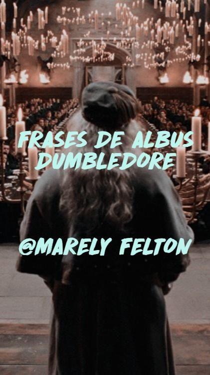 FRASES DE ALBUS DUMBLEDORE    @MARELY FELTON