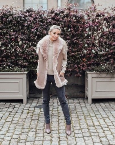 How to style a Faux Fur Gilet for Autumn Winter
