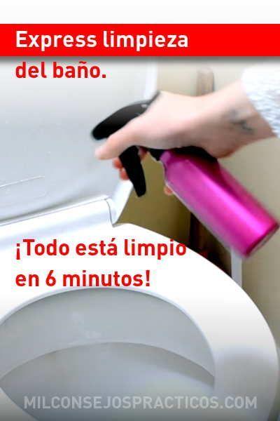 Express Limpieza Del Bano Todo Esta Limpio En 6 Minutos 6