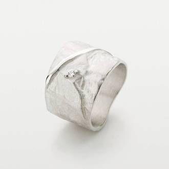 Verwonderend Zilveren ringen: originele, handgemaakte ringen en sieraden in DJ-35