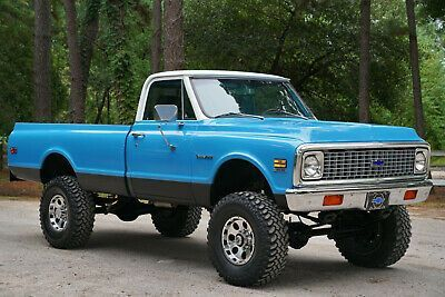 1971 Chevrolet C20 4x4 Pickup Truck Old Trucks For Sale Vintage