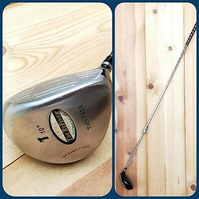 Ad Ebay The Refiner Swing Trainer 1 Rh Hinged Training 10 Stainless Thin Face Golf Club With Images Swing Trainer Golf Clubs 10 Things