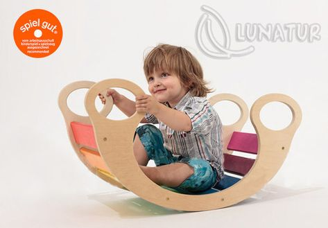 Get him a versatile rocker - Wooden Toys That Are Way Cooler Than Their Plastic Alternatives - Photos