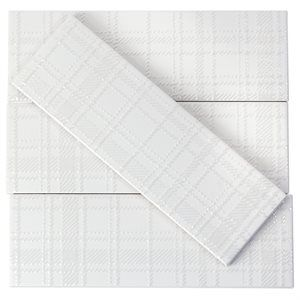 Soho Grand White Matte 3x9 Ceramic Tiles Ceramic Tile Bathrooms Ceramic Subway Tile