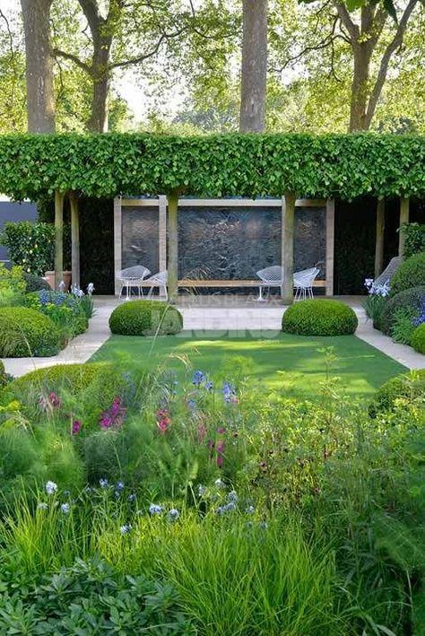 Jardin-Contemporain-Del-Buono-Gazerwitz | Garten idee | Jardins ...