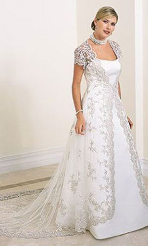 wonderful choice mom | Wedding dresses | Pinterest | Plus size ...