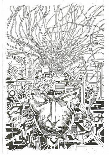 Resultado de imagem para machine man 1 1984 cover