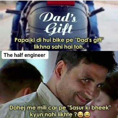 Best Funny Memes In Hindi For Facebook And Whatsaap Free Download Statuspictures Com Statuspictures Com Funny Facts Funny Images Laughter Some Funny Jokes