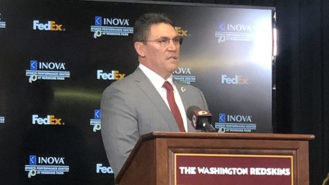 Video: Washington Redskins Introduce New Coach Ron Rivera | SportsJourney.com
