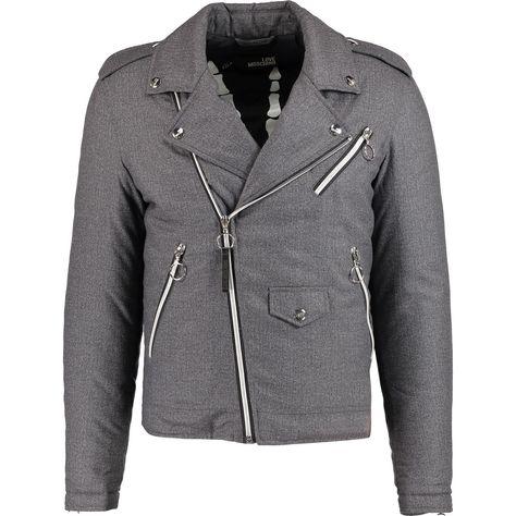 Love Moschino M H 621 01 T 7828 Grey 6016 Jacket - 50