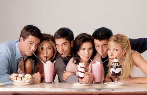 The entire 'Friends' series is coming to Netflix next year
