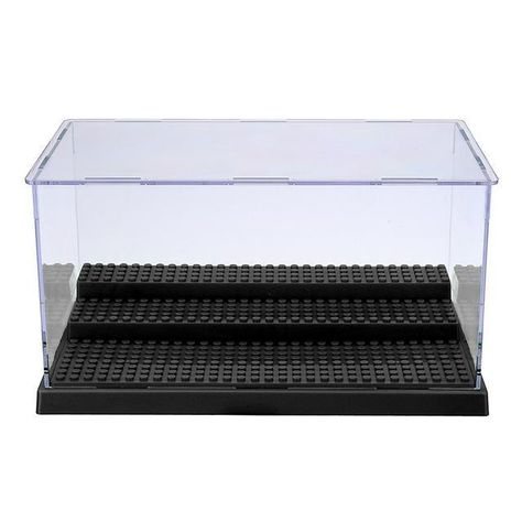 5colors Display Case//Box 2//3 Step Perspex Dust Proof Show Toy Figures