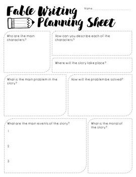 Fables Writing Project Writing Project Fables Rubrics For Projects