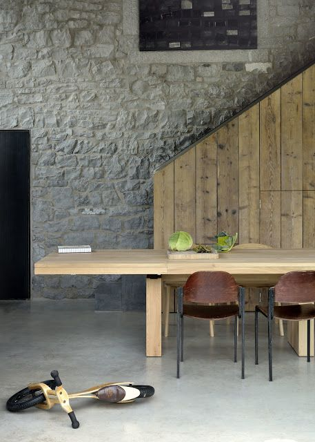 Atelier Rue Verte Le Blog Belgique Le Nouveau Loft Showroom Ethnicraft Table Salle A Manger Table A Manger Extensible Table A Rallonge