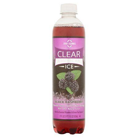 clear american ice sparkling water on diet