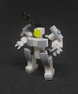 Traveler Class Light Frame - Cannon Configuration | LEGO