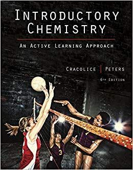 Introductory Chemistry 6th Edition By Mark S Cracolice Chemistry Textbook Chemistry Marks