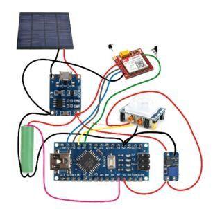Arduino Auto Solar Intrusive Alarm Arduino Cool Electronics Electronics Projects