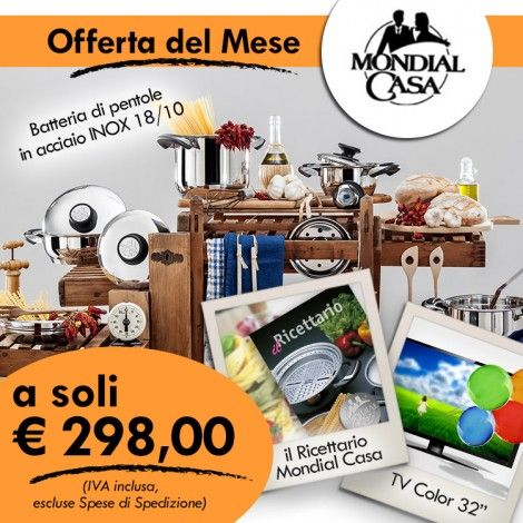 Offerta TV del Mese - Mondial Casa Shop | MC Products | Pinterest