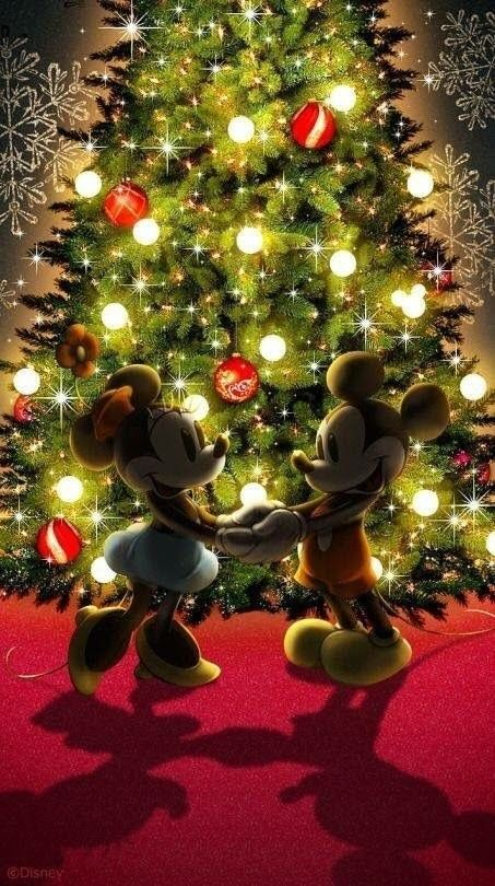 Pin By Anne Florence Rezaeinia On Disney Christmas Wallpaper Iphone Christmas Christmas Wallpaper Iphone Wallpaper Cool disney christmas wallpaper for