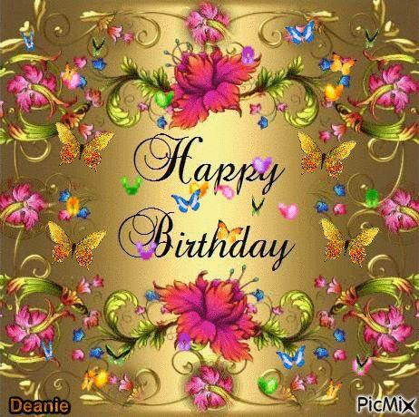 Magnificent Birthday Eily Alles Gute Geburtstag Animierte